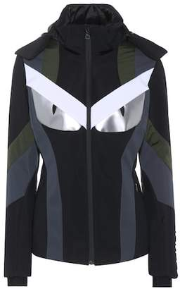 Fendi Panelled ski jacket
