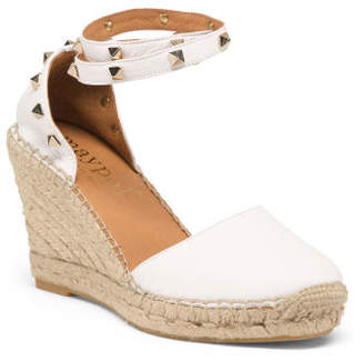 0814a03e61f7a0 at TJ Maxx · Made In Spain Leather Wedge Espadrilles