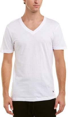 Lucky Brand 3Pk Slim Fit V-Neck T-Shirts