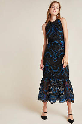 Shoshanna Colton Lace Maxi Dress