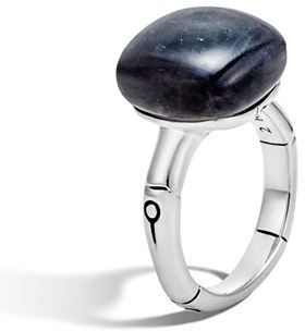 Women's John Hardy 'Bamboo' Semiprecious Stone Ring $495 thestylecure.com