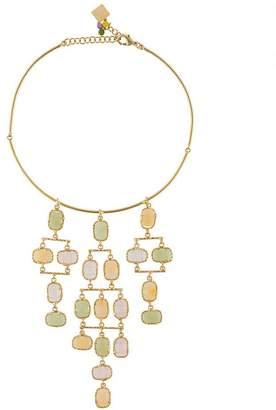 Rosantica gem embellished necklace