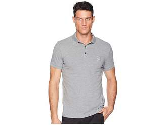 BOSS ORANGE Short Sleeve Polo with Logo Patch