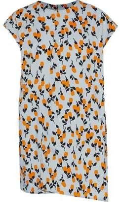 Marni Floral-Print Cotton-Poplin Tunic