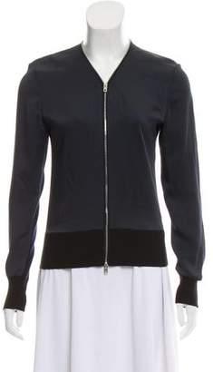 Rag & Bone Merino Wool Accent Bomber Jacket