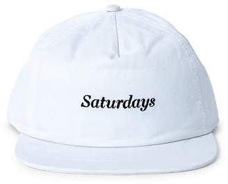 Saturdays NYC Stanley Italics Cap White
