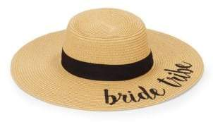 Bride Tribe Embroidered Sun Hat