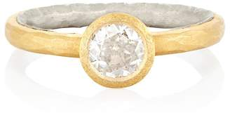 Malcolm Betts Women's Hammered Ring