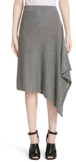 Women's Michael Kors Cashmere Handkerchief Hem Skirt