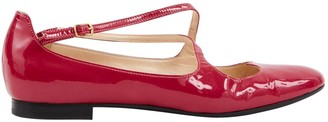 Camilla Elphick Pink Patent leather Flats