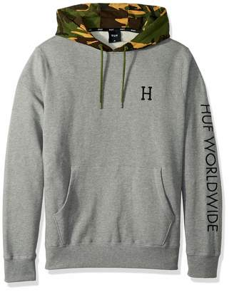 HUF Men's Voyage French Terry P/O Hoodie, M