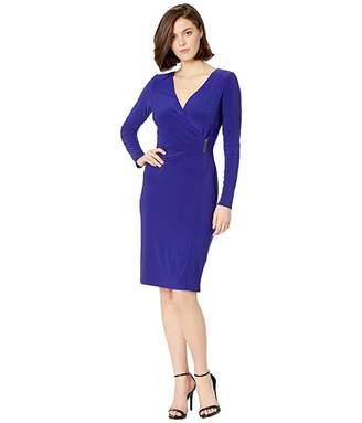 Lauren Ralph Lauren 1T Matte Jersey Phebe Long Sleeve Day Dress