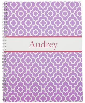 Pottery Barn Kids Pastel Mackenzie Notebook, Lavender Geo