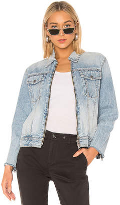 Rag & Bone Zip Oversized Jacket