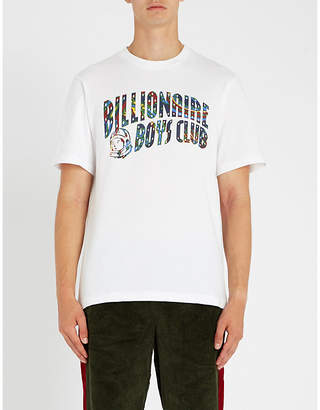 Billionaire Boys Club Paisley brand-print cotton-jersey T-shirt