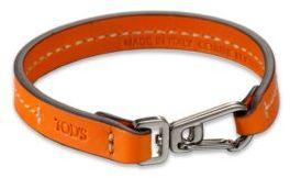 Tod's Marina Topstitched Leather Bracelet