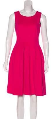 Calvin Klein Pleated Sleeveless Dress