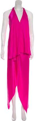 Robert Rodriguez Silk Asymmetrical Dress w/ Tags