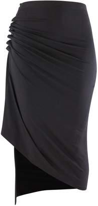 Paco Rabanne Jersey skirt