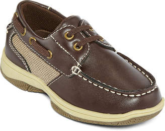 Okie Dokie Brett Boys Boat Shoes - Toddler