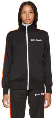 Palm Angels Black Rainbow Classic Track Jacket
