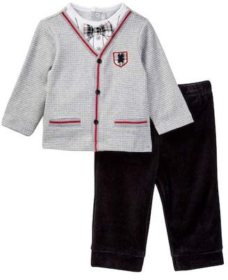 Little Me Cardigan & Pant Set (Baby Boys)