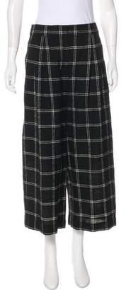 Tibi High-Rise Wide-Leg Pants