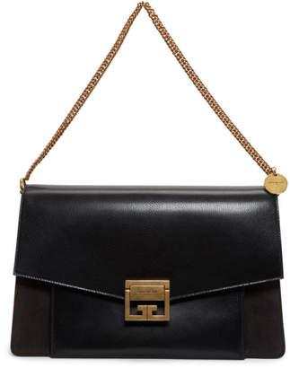 Givenchy Black and Grey Large GV3 Bag