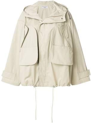 Katharine Hamnett oversized drawstring jacket