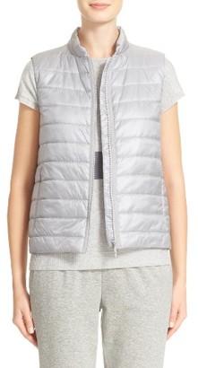 Women's Lafayette 148 New York Elara Puffer Vest $298 thestylecure.com