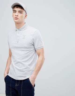 Hackett Mr. Classic Logo Polo in Gray
