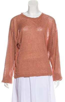 eskandar Linen Knit Top