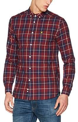 Lyle & Scott Men's Check Flannel Casual Shirt