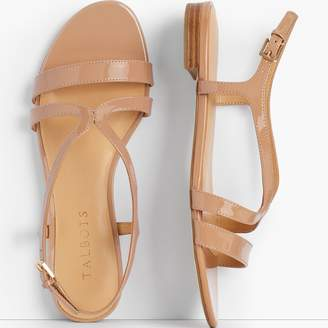 c436f9d754a Talbots Keri Strap Sandals - Patent Leather