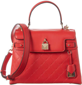 MICHAEL Michael Kors Gramercy Medium Top Handle Leather Satchel
