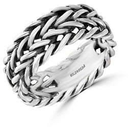 Effy Mens Sterling Silver Ring