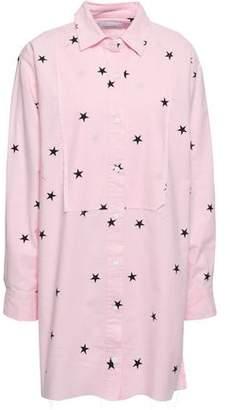 Current/Elliott Printed Cotton-blend Poplin Mini Shirt Dress
