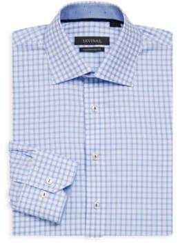 Contemporary-Fit Gingham Dress Shirt