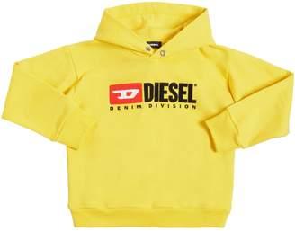 Diesel Logo Embroidered Sweatshirt Hoodie