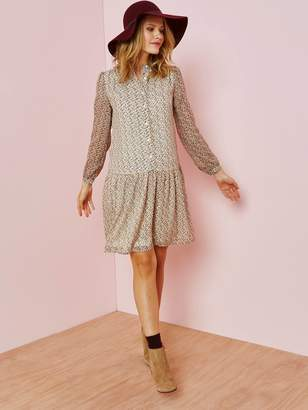 Vertbaudet Maternity Dress with Printed Flowers
