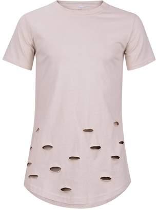 AG Jeans OQIU Mens Extended Hip Hop T Shirts 1L