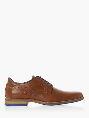 Dune Brampton Leather Derby Shoes