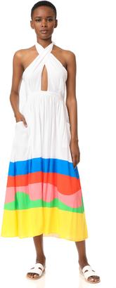 Mara Hoffman Beach Ball Midi Dress $310 thestylecure.com