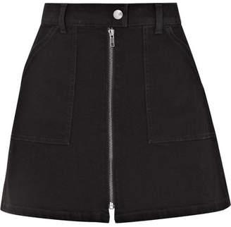 Madewell Denim Mini Skirt - Black