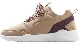 MANGO Platform satin sneakers
