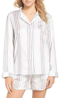 CHALMERS Candy Stripe Print Pajamas