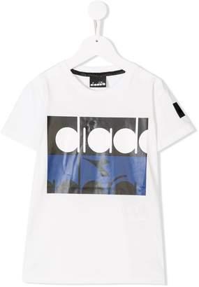Diadora Junior logo short-sleeve T-shirt