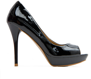 Peep-Toe Stiletto Heel