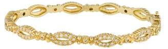 Doris Panos 18K Diamond Daphne Bangle
