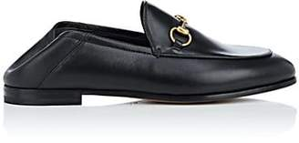 Gucci Women's Brixton Leather Loafers - Black
